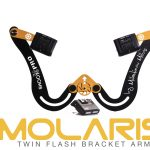 Molaris twin flash bracket