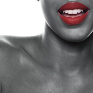 close-up dental photography