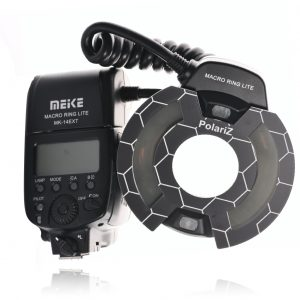 Meike ring flash and PolariZ kit for Nikon