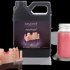 KeyMask Keyprint resin