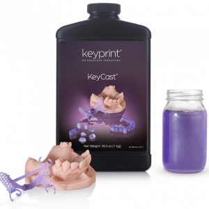 KeyCast Keyprint resin