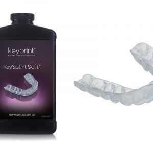 KeySplintSoft Keyprint resin
